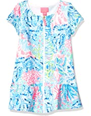 2d151d624c Lilly Pulitzer Big Girls' UPF 50+ Ivy Cover Up Multi Sink Or Swim