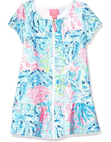 88e8b0d18e Lilly Pulitzer Big Girls' UPF 50+ Ivy Cover Up Multi Sink Or Swim
