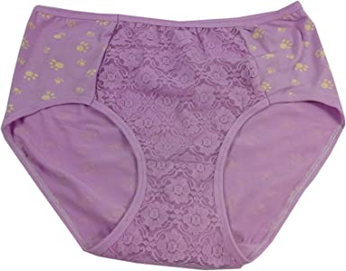 Floral Panty Women/'s Panty Pink and Purple Floral Women/'s Briefs Purple Panty Women/'s Lingerie Purple Briefs Women/'s Briefs