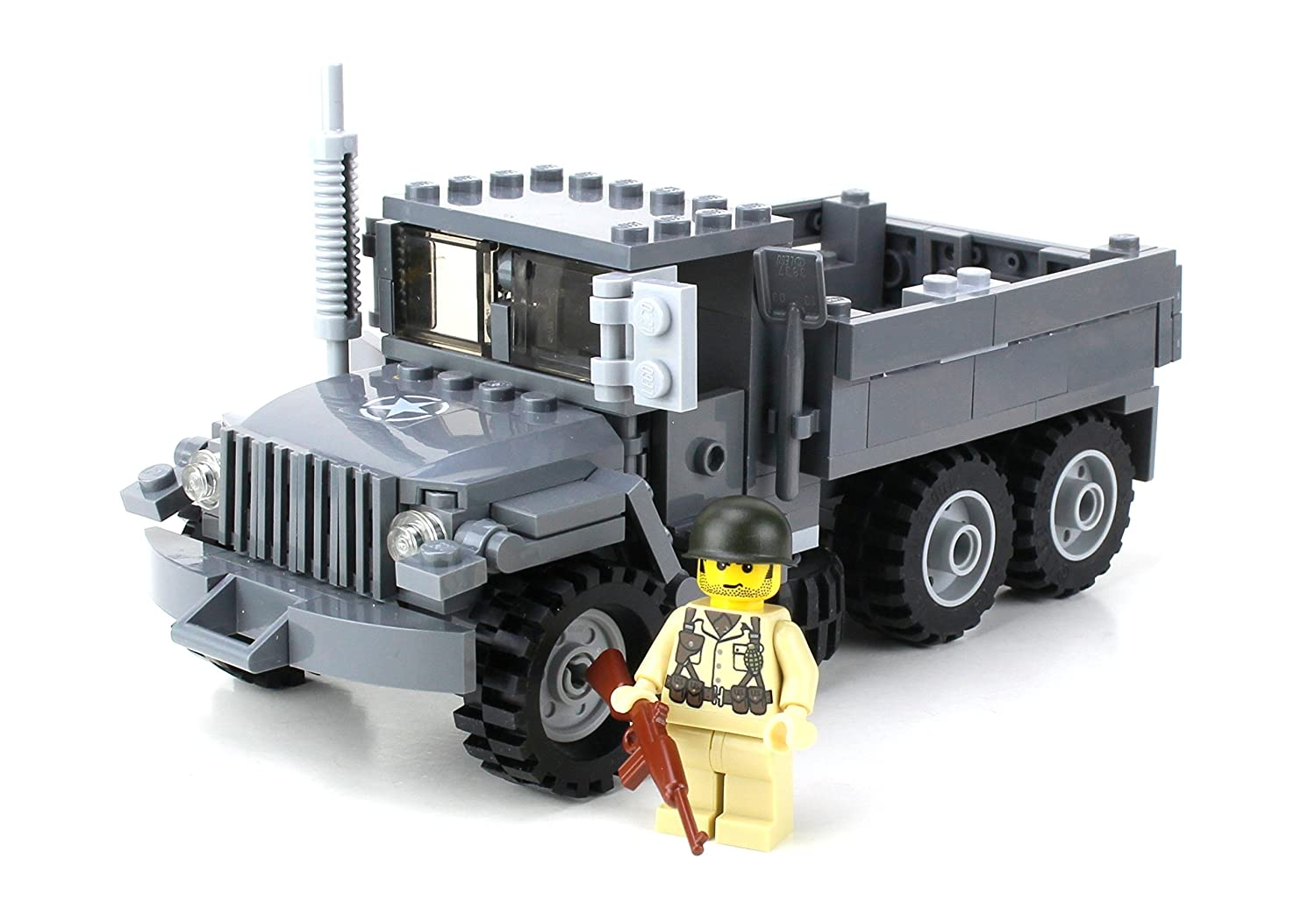 Amazon Battle Brick Custom Us Army M35 Truck Made With Real