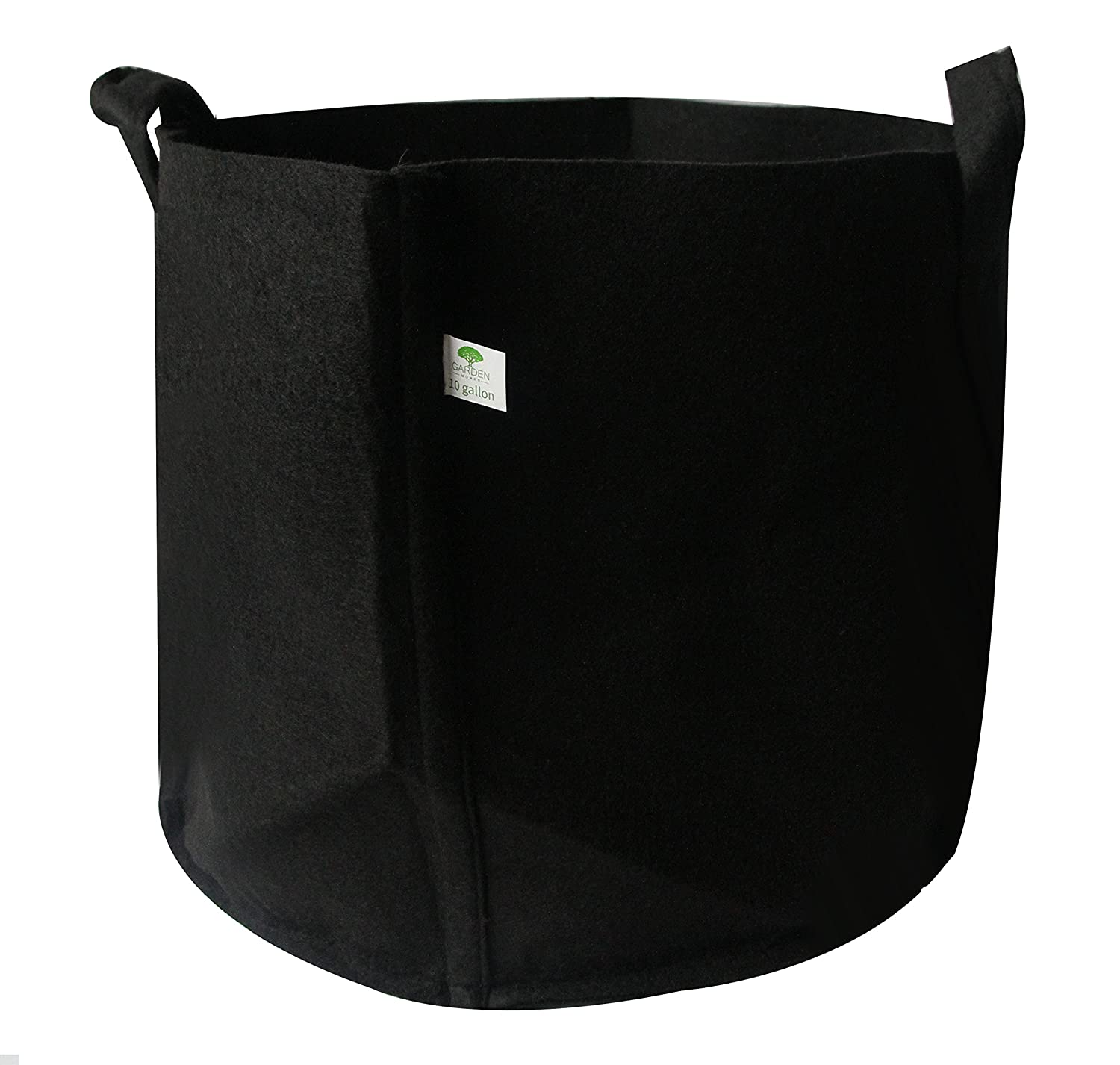 Grow Bags 10 Gallons Aeration Fabric Pots with Handles for Plant Growth Boost and Better Root Structure, Healthy Crops All Year Long, Eco-Friendly Materials, for Farmers and Gardeners 10 Gallons