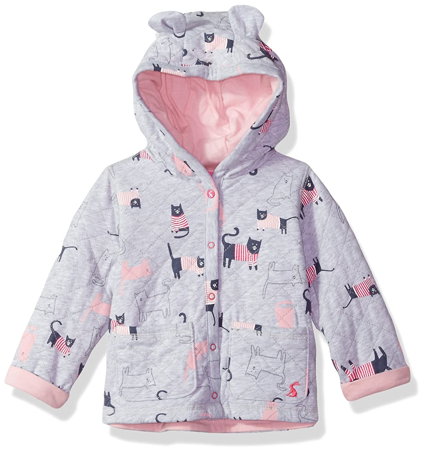 Joules Baby Boys Cuddle Quilted Hooded Jersey Sweat
