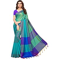 Indira Designer Art Silk Saree with Blouse Piece