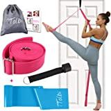 TTolbi Leg Stretcher: Stretching with Door Stretch Strap for Flexibility | Splits Trainer : Dance Equipment for Stretching in