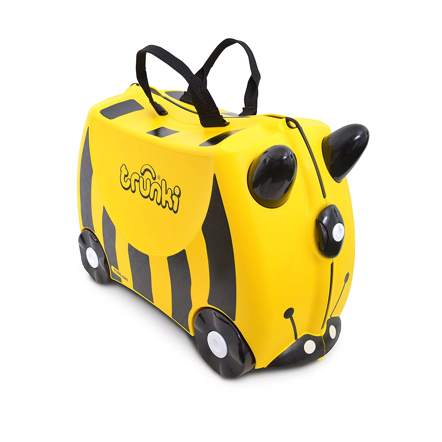 f75496abf7af Trunki Children s Ride-On Suitcase   Hand Luggage  Bernard Bee (Yellow)