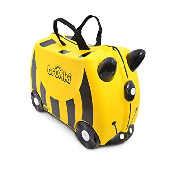 db75b1384670d Trunki TR000044 Çocuk Bavulu, Arı Bernard: Amazon.com.tr: Mucit Panda