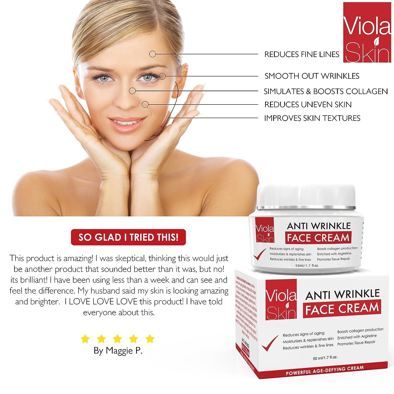 Potente agedefying crema facial con Matrixyl 3000 reduce signos de envejecimiento vitamina C Hialurónico Ácido: Amazon.es: Belleza
