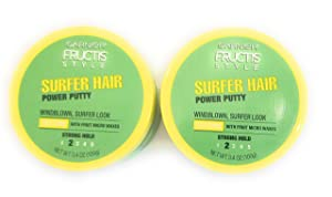 Garnier Fructis Style Surfer Hair Power Putty, 3 Ounce, 2 Pack