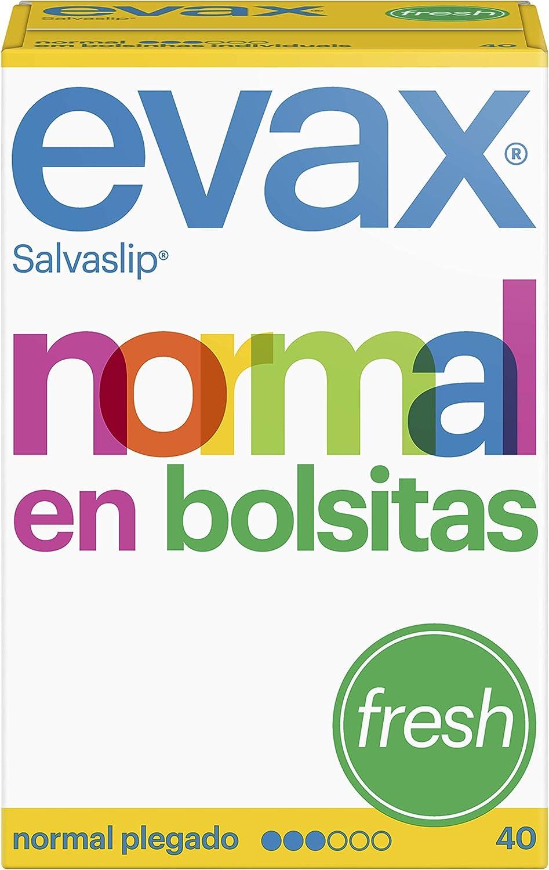 Evax Salvaslip Perfumado Normal Protegeslips 40 Unidades, Sistema ...