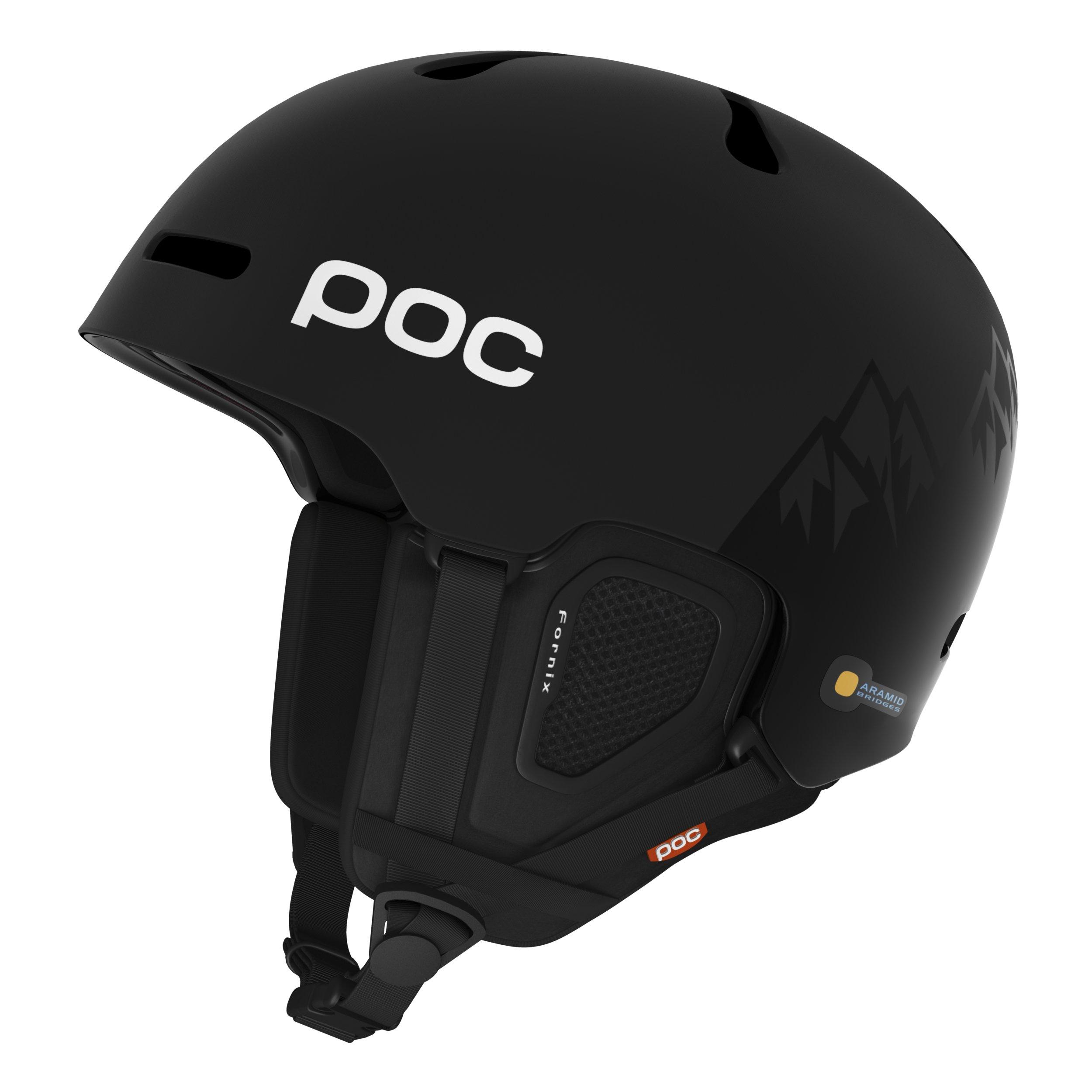 POC Fornix Backcountry MIPS Ski Helmet, Uranium Black, Medium/Large by POC