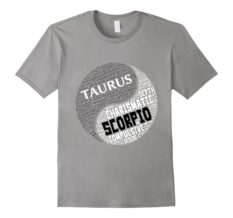 Zodiac Shirt for Men and Women Taurus and Scorpio T-shirt-TH