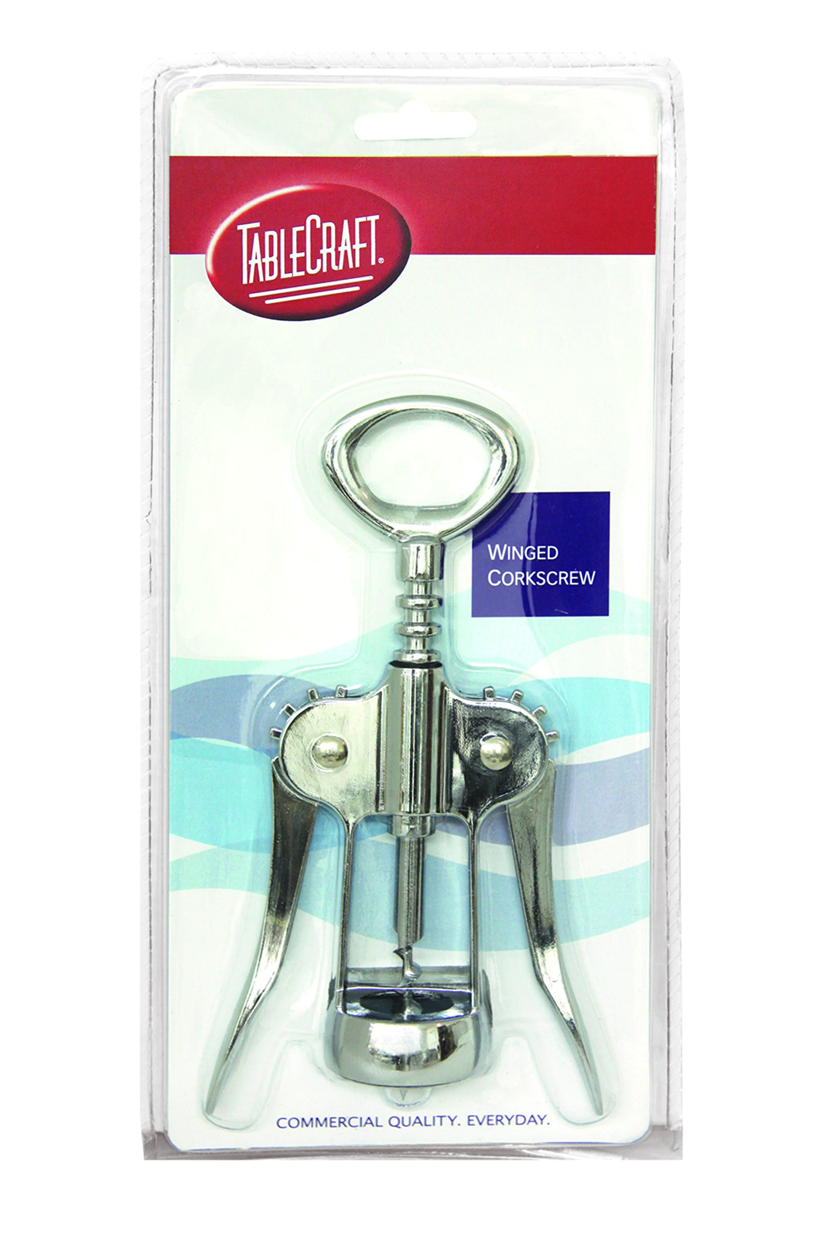 TableCraft H1225C Stainless Steel Winged Corkscrew