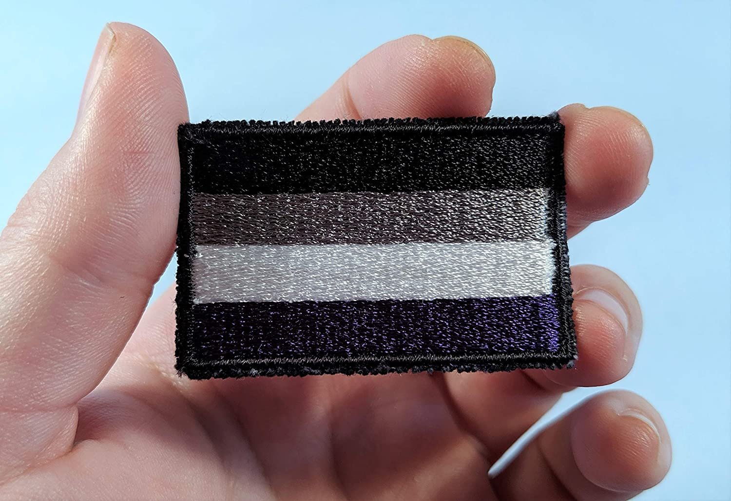 Asexual Ace Pride Flag Embroidered Patch