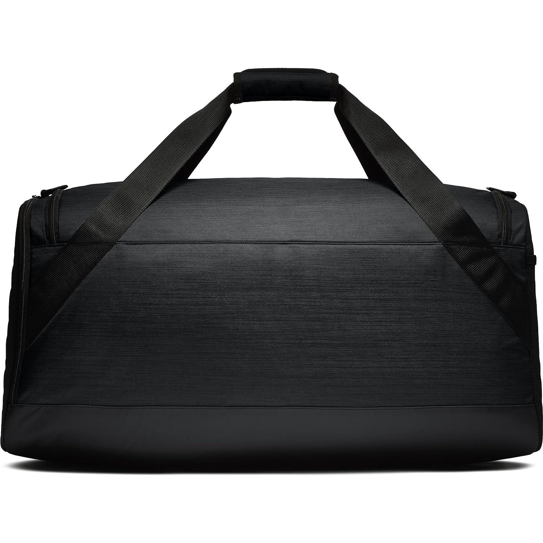 Amazon.com  NIKE Brasilia Duffel Bag, Black Black White, Large  Sports    Outdoors 0be991eee9