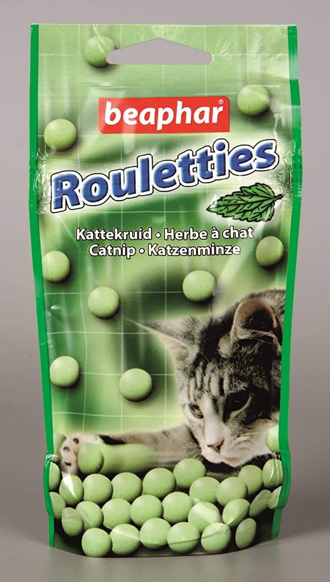 Friandises attractives pour chat Rouletties Herbe à chat