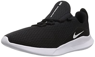 0db2a988353 Nike Men's Viale Running Shoe, Black/White, 6 Regular US