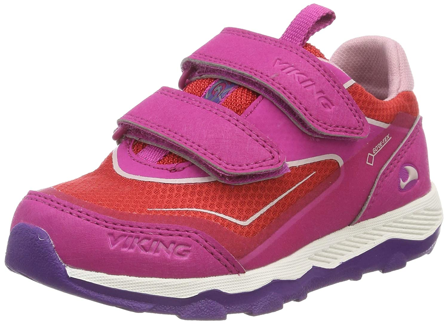 Rose (Magenta rouge 9610) Viking Evanger Low GTX, Chaussures de Cross Mixte Enfant 23 EU