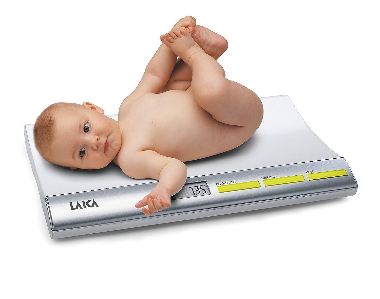 LAICA PS3001 Báscula para bebés digital con bloqueo del peso del neonato: Amazon.es: Bricolaje y herramientas