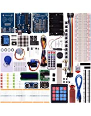 Kuman New Arduino Components with UNO R3 LCD servo Ultimate Starter RFID Learning Kit for Arduino