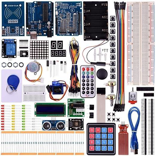 32 opinioni per Kuman K25 Nuovo Ultimate Starter RFID Apprendimento Kit Per Arduino UNO Nano R3