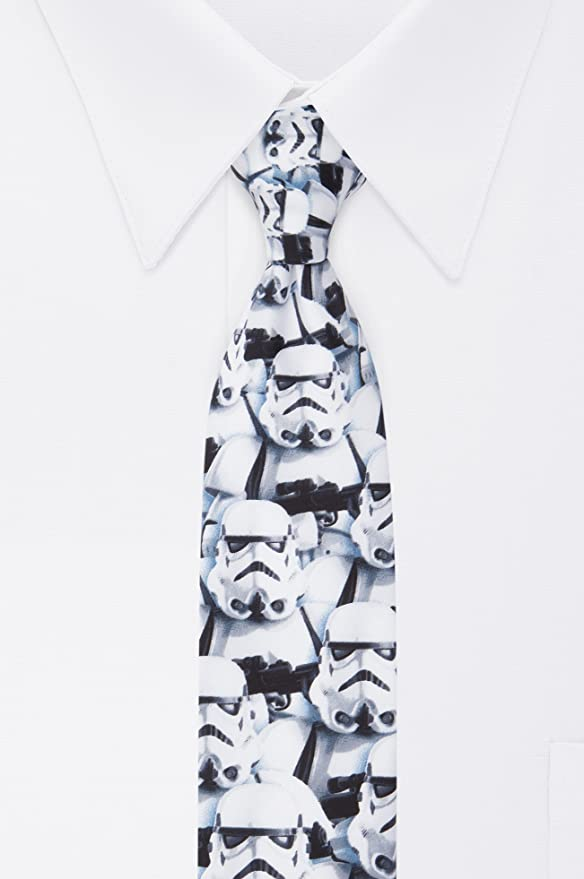 Star Wars Stormtroopers - Corbata para hombre - Blanco - talla ...