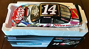 2010 Tony Stewart Office Depot Back To School Signed 1/24 Diecast Car W/COA (B) - Autographed Diecast Cars