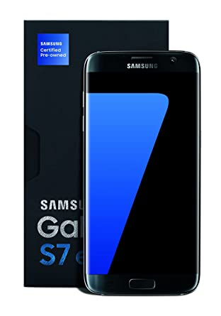 Pre Owned Factory >> Samsung Galaxy S7 Edge Certified Pre Owned Factory Unlocked Phone 5 5 Screen 32gb Titanium 1 Year Samsung Us Warranty