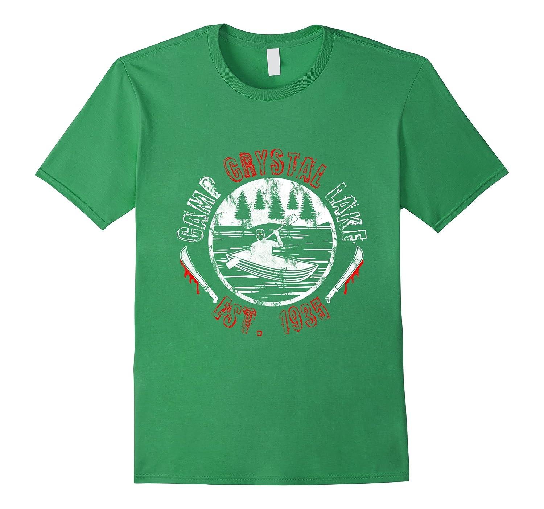 Crystal Lake Retro Style Shirt-T-Shirt