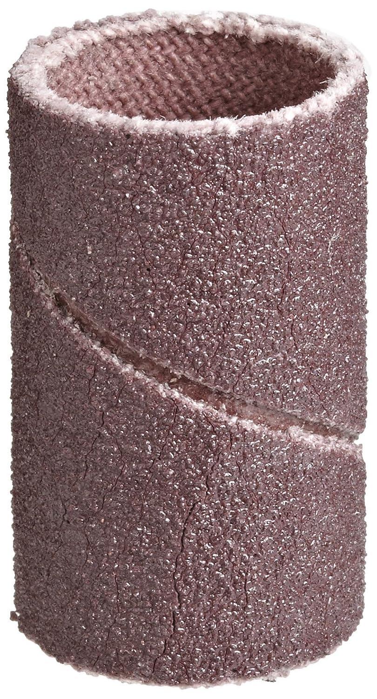 P120 Grit Brown Pack of 100 3M Cloth Band 341D 1//2 Diameter x 1 Width