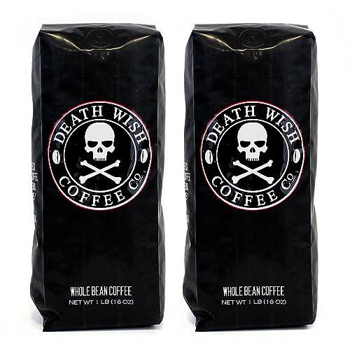 Death Wish Whole Bean Coffee Bundle Deal