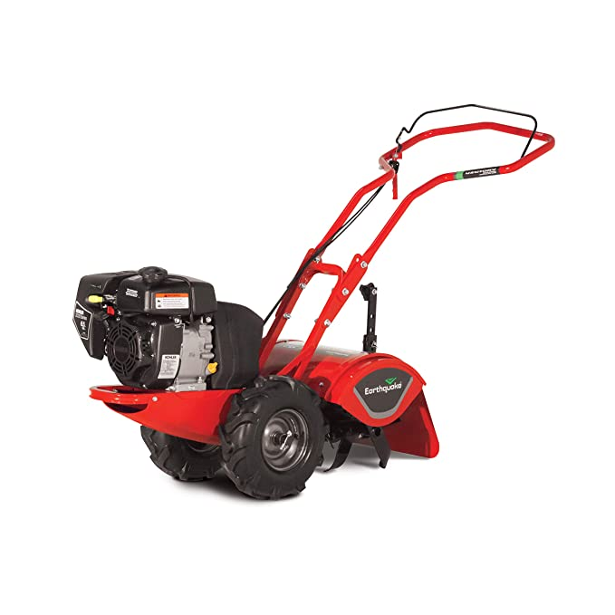 Earthquake Rear Tine Tiller - A Compact Machine With a Powerful Motor