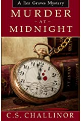 Murder at Midnight: A British New Year's Eve Cozy Mystery (Rex Graves Mystery) Kindle Edition
