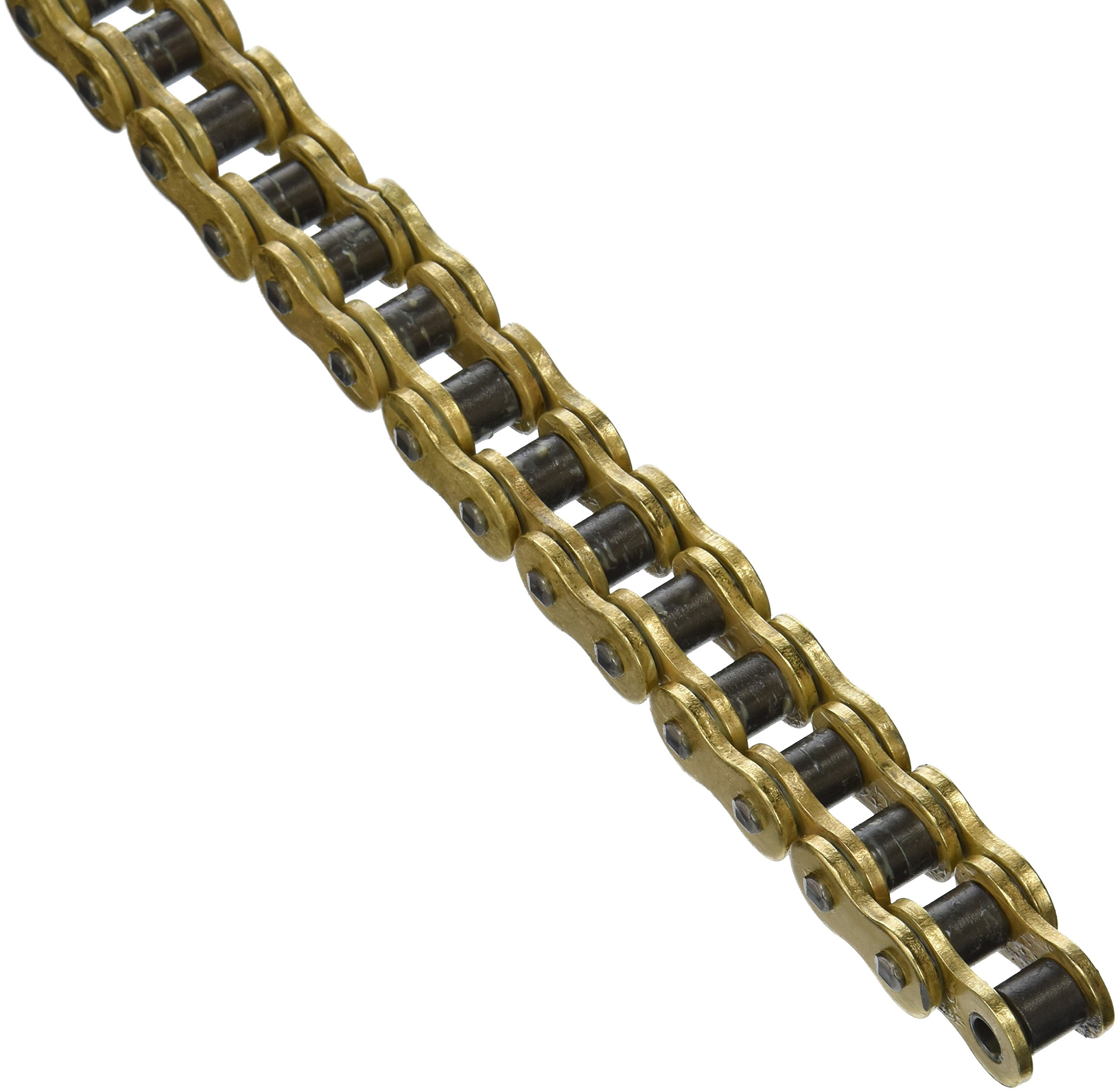DID 530ZVMXG-108 Gold X-Ring Chain with Connecting Link by D.I.D.