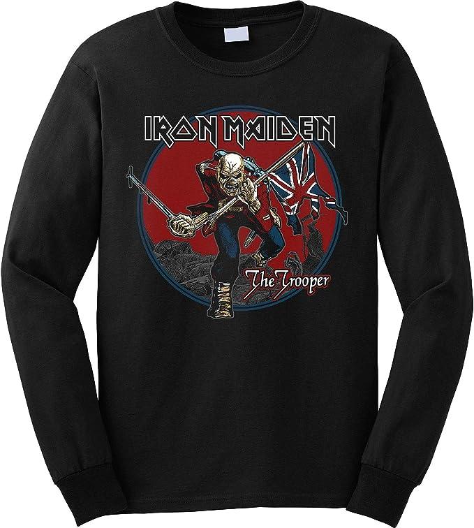 Rock Off Iron Maiden Trooper Red Sky Maglia di Tuta Uomo
