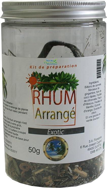 Ruedesplantes - Kit para elaborar ron especiado (50 g ...