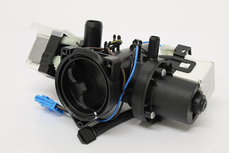 SPAREGETTI - Bomba de desagüe para lavadora LG, Samsung (con carcasa de filtro)