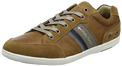 Helly Hansen 2018 Men's Kordel Leather Shoes - New Light Tan/Falcon -  10945_725 (