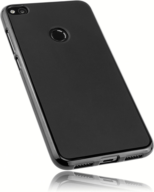 mumbi Funda Compatible con Huawei P8 Lite (2017) Caja del teléfono móvil, Negro: Amazon.es: Electrónica