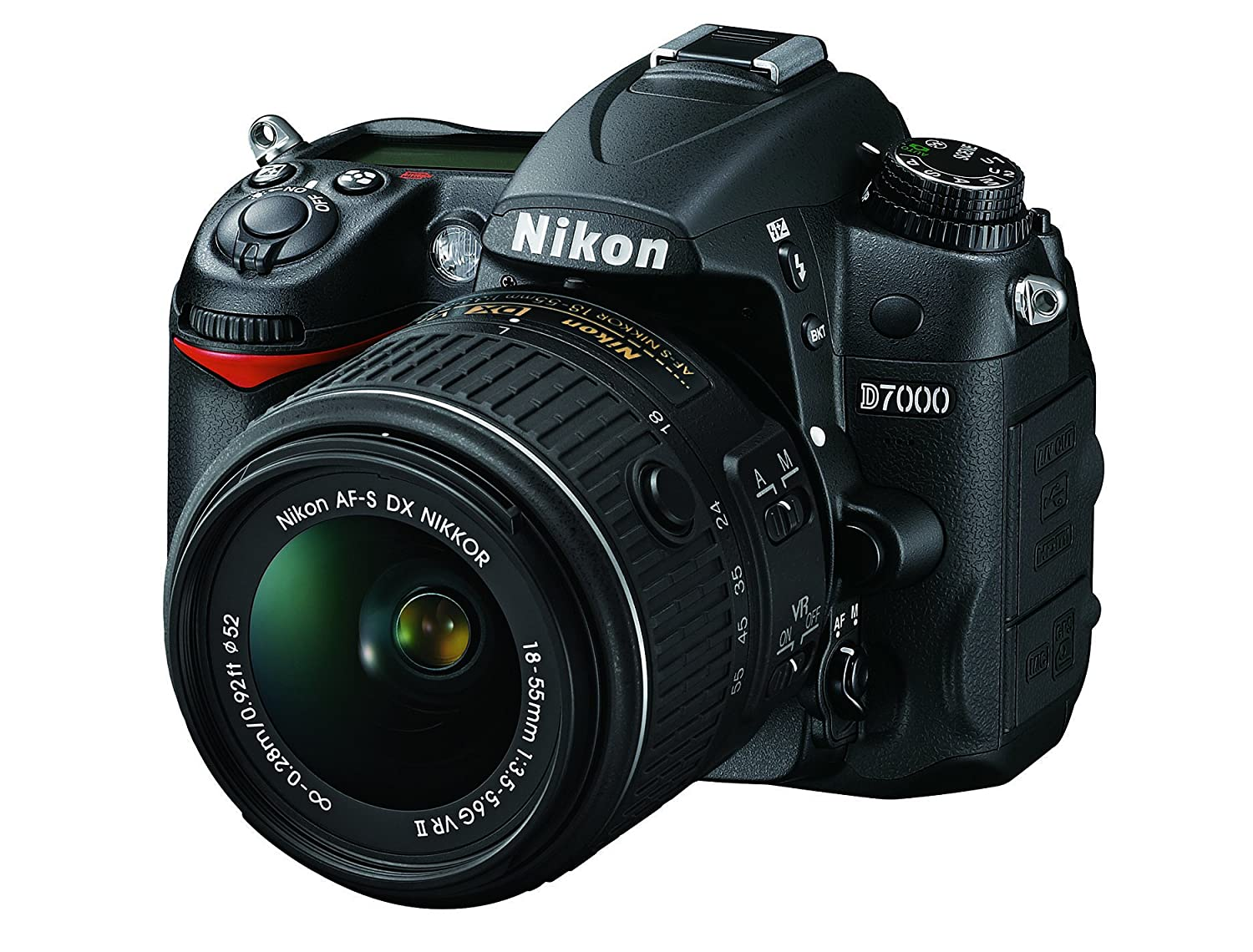 Camera Dslr Camera Megapixel amazon com nikon d7000 16 2 megapixel digital slr camera with 18 55mm lens black photo
