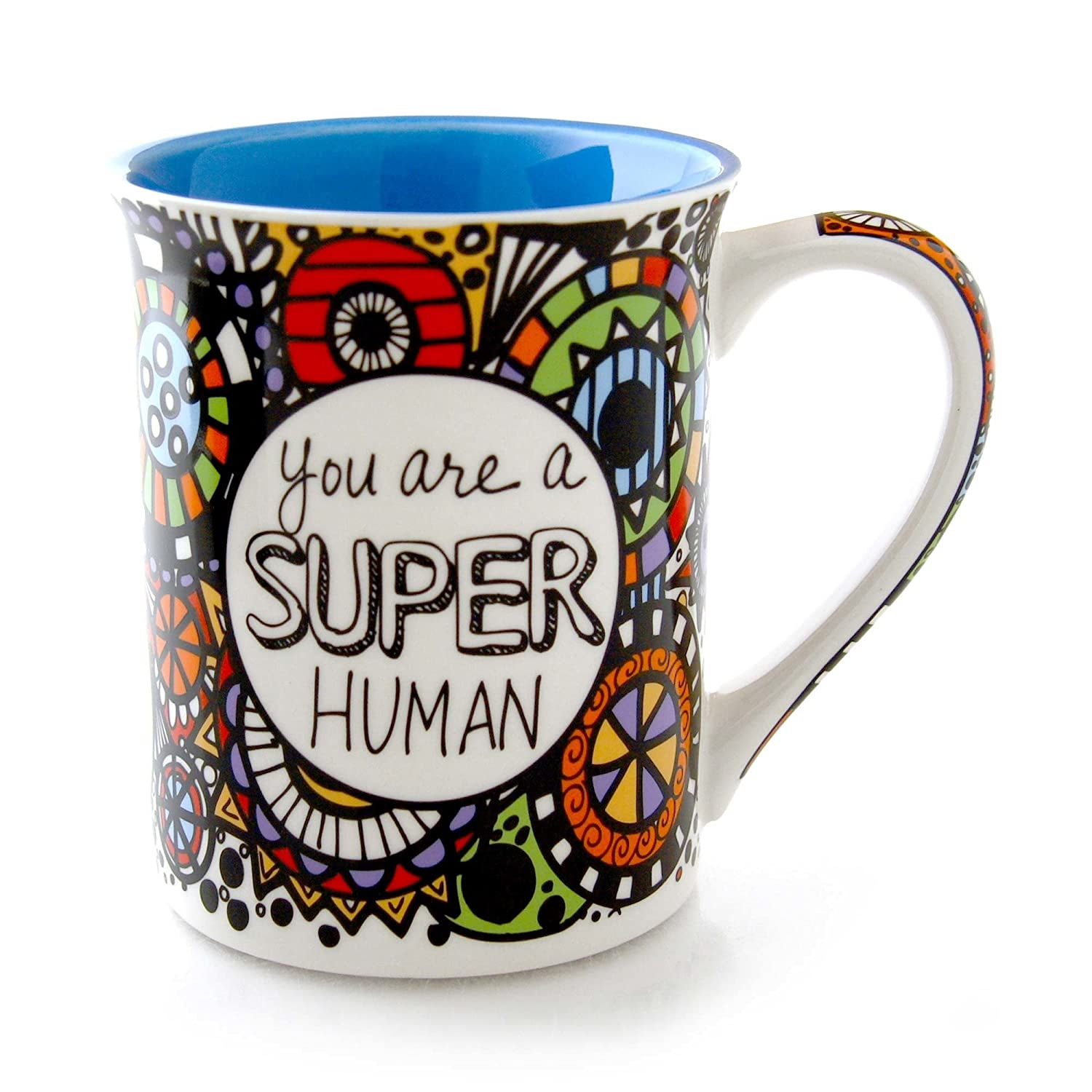 """Our Name Is Mud Lorrie Veasey /""""You Did It/"""" Coffee Tea Cup Mug NEW Psychedelic"""