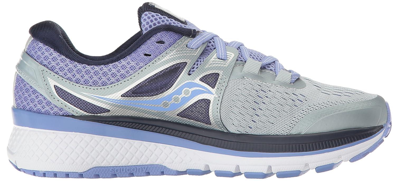 Saucony Women's Triumph B01MS039O4 Iso 3 Running Sneaker B01MS039O4 Triumph 10 B(M) US|Grey Purple 9cc492