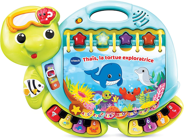 ZHANGH Enfants De Toy Tortue Apprendre /à Crawl 1-3 Ans B/éb/é Jouet