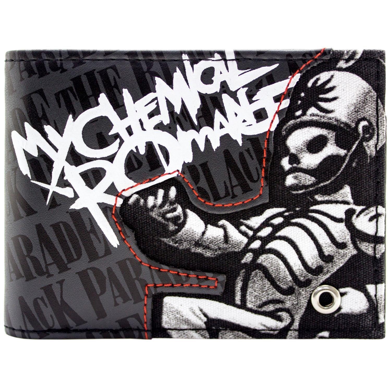 Cartera de My Chemical Romance Black Parade Rock Gris 28108