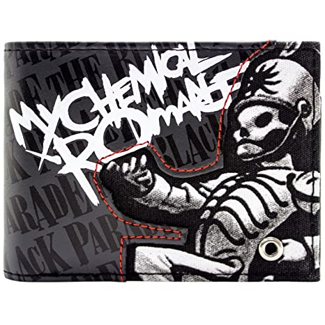 Cartera de My Chemical Romance Black Parade Rock Gris ...