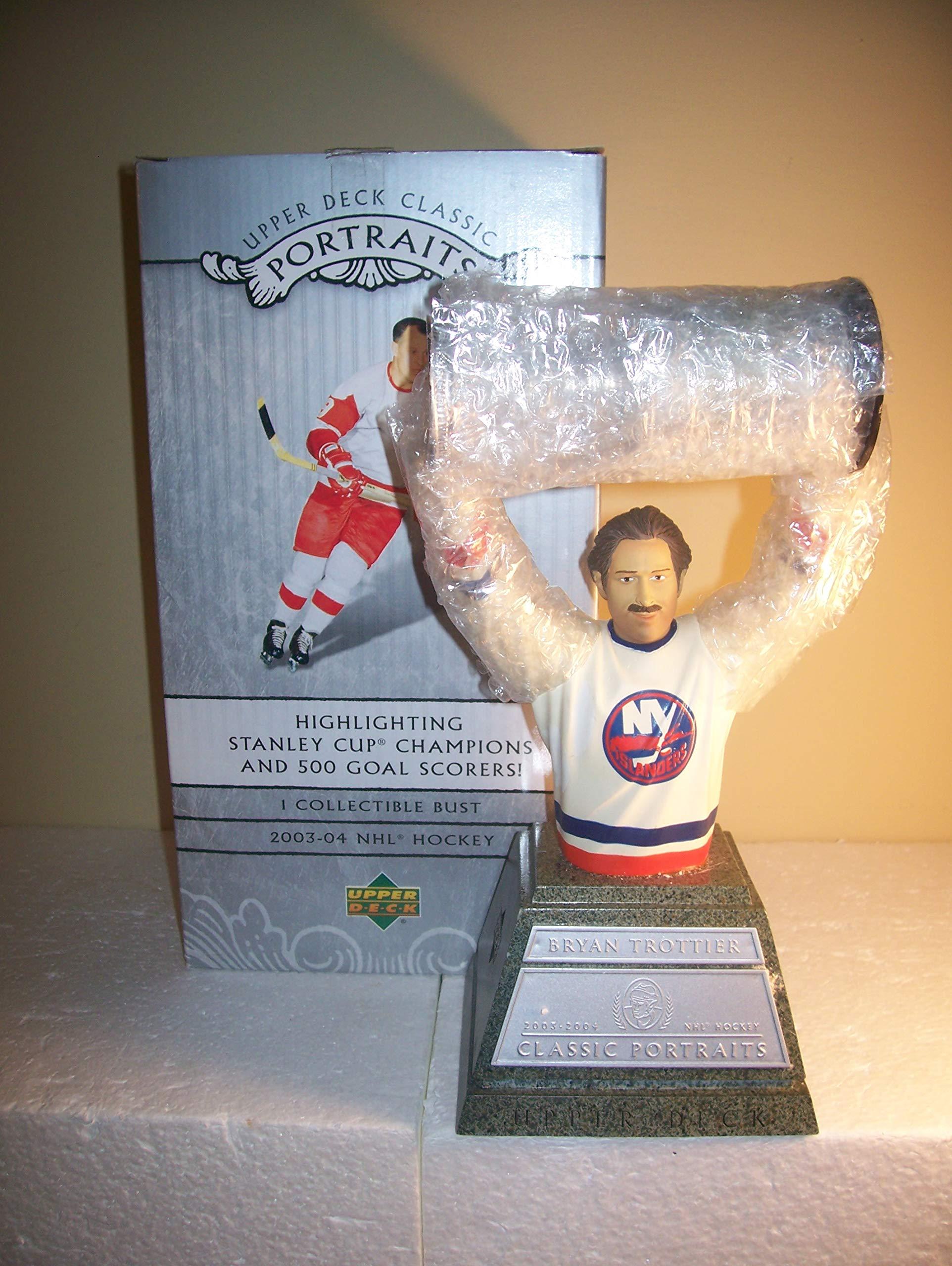 Bryan Trottier New York Islanders Upper Deck Portraits Bust Figurine