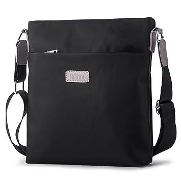 f054eb92f2e44 Kleine Schultertasche Herrentasche Umhängetaschen Männer Messenger Bag  Businesstasche zum Arbeit Uni Reise Sport Schulranzen Hengwin -