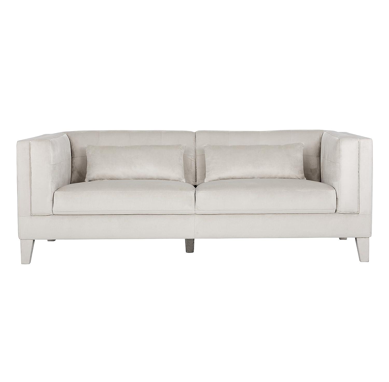 Amazon.com: Sunpan Modern Zander Sofa, Champagne Fabric ...