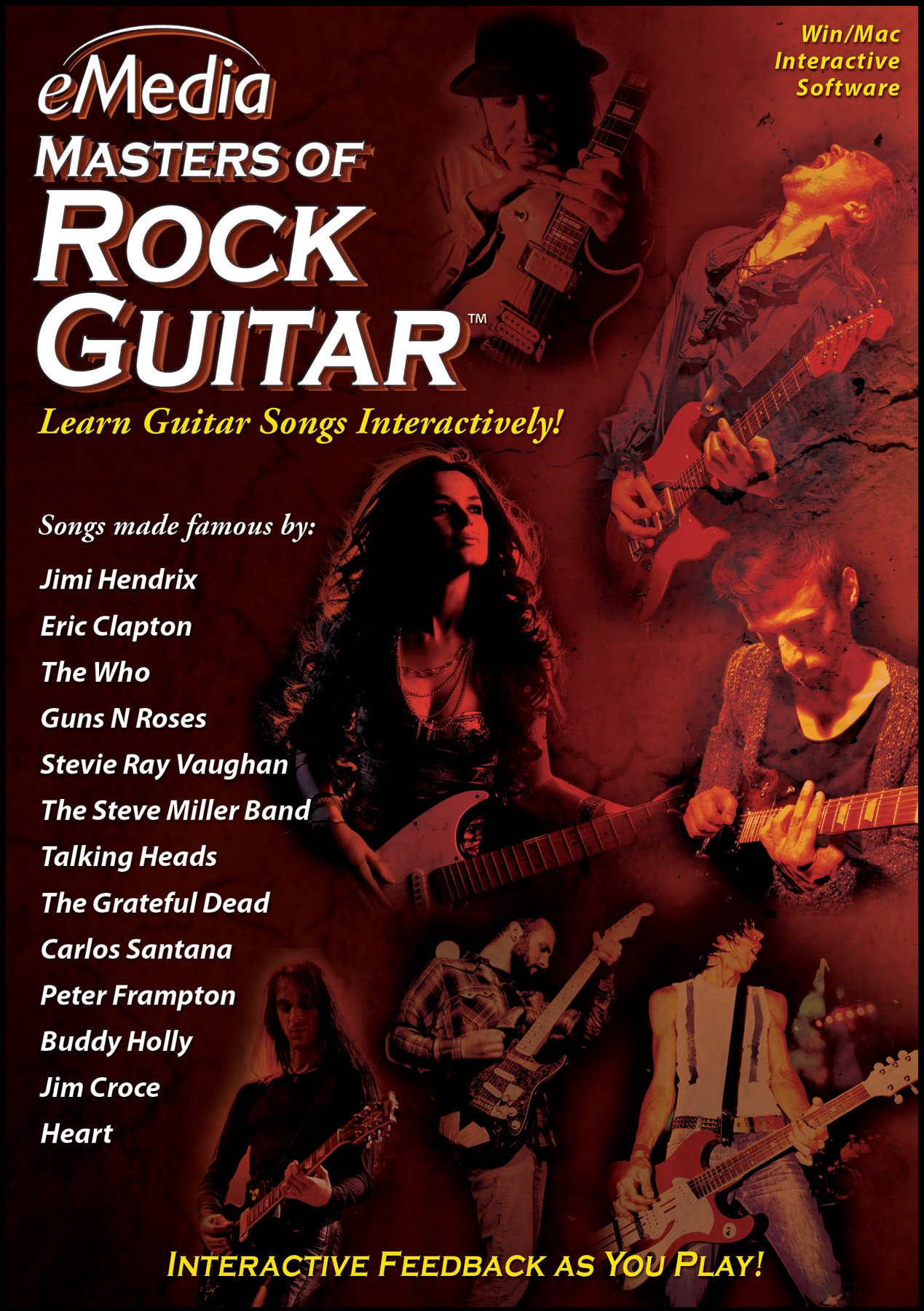 eMedia Masters of Rock Guitar [PC Download] by eMedia