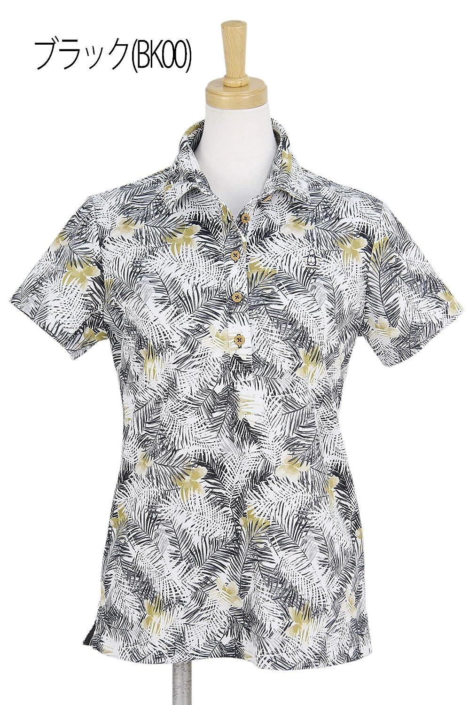 ポロシャツ レディース マンシングウェア Munsingwear 2019 春夏 ゴルフウェア mgwnja23 M(M) ブラック(BK00) B07QHSLTGG