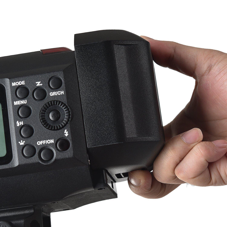 Godox AD600B TTL Bowen Mount GN87 600W HSS 1/8000s 2.4G Wireless with 8700mAh Lithium Battery Outdoor Studio Strobe Flash,Godox XPro-F Flash Trigger for Fuji Camera by Godox (Image #8)
